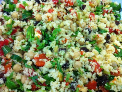 Morroccan couscous salad